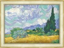 002.고흐 - 삼나무가 있는 밀밭