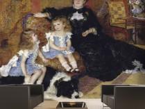 르누아르 - 샤르팡티에 부인과 아이들의 초상
