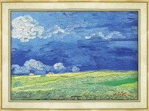 018.고흐 - 흐린 하늘을 배경으로 한 밀밭