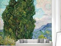 고흐 - 사이프러스 나무