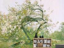 하삼 - 복숭아 꽃