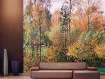 카미유 피사로 - 에라니의 가을 포블러 나무