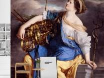 오라치오 젠틀레스키 - 악의 무리로부터 승리한 전복의 여신