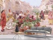 루이스 마리 스크리브 - 꽃 시장