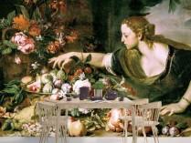 아브라함 브루겔 - 과일을 먹는 여인