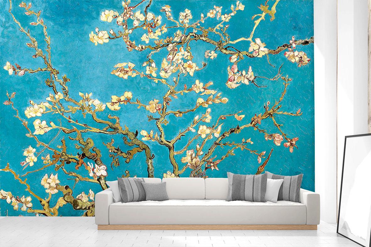 고흐 - 꽃 피는 아몬드나무